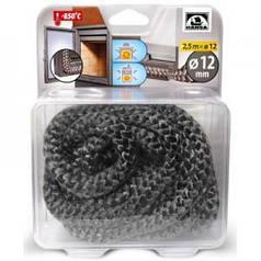 Шнур из керамического волокна Hansa, диам. 10 мм, длина 2,5 м (Германия)