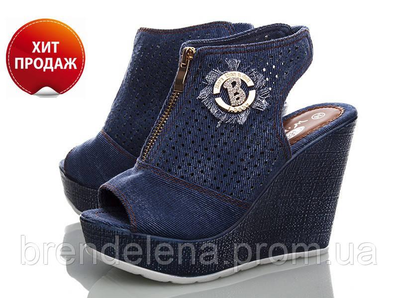 684bd97e4 Стильные джинсовые молодежные босоножки р.(36-41) - интернет-магазин