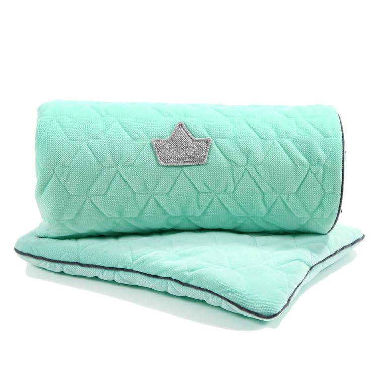 La Millou - Одеяло и подушка Velvet Collection, mint