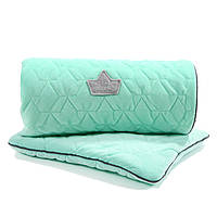 La Millou - Одеяло и подушка Velvet Collection, mint, фото 1