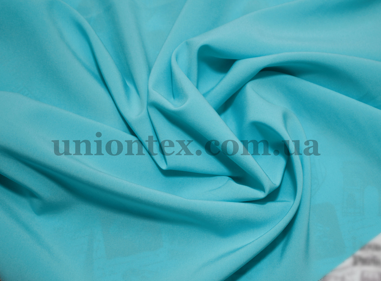 Ткань супер- софт голубая бирюза