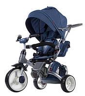 Велосипед 3-х колесный 6 в1 Sun Baby - Little Tige, полиуретановые колеса, синий