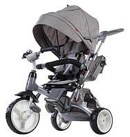Велосипед 3-х колесный 6 в1 Sun Baby - Little Tige, полиуретановые колеса, бежевый