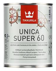 Уретано-алкидный лак Tikkurila Unica Super 60 (полуглянцевый)