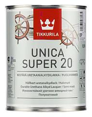 Уретано-алкидный лак Tikkurila Unica Super 20 (полуматовый)