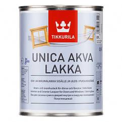 Акриловый лак Tikkurila Unica Aqua Lakka (полуглянцевый)