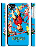Чехол  для iPhone 4/4s kenzo kids