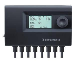 Euroster 12 - контроллер для работы 3-х устройств в системе отопления, фото 2