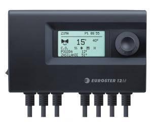 Euroster 12M - погодозависимый контроллер отопительного контура, фото 2