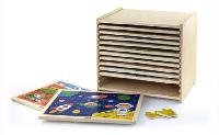 Набор пазлов 12 штук 51428 Viga Toys
