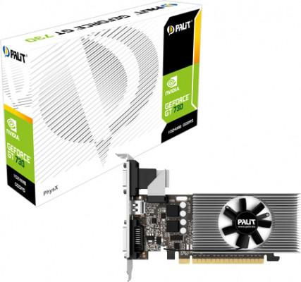Видеокарта Palit GT730 1GB (NE5T7300HD06-2081F) (64bit/5000MHz)
