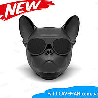 Колонка портативная беспроводная Bluetooth S3 dog «CoolDog Французский Бульдог»  в виде собаки
