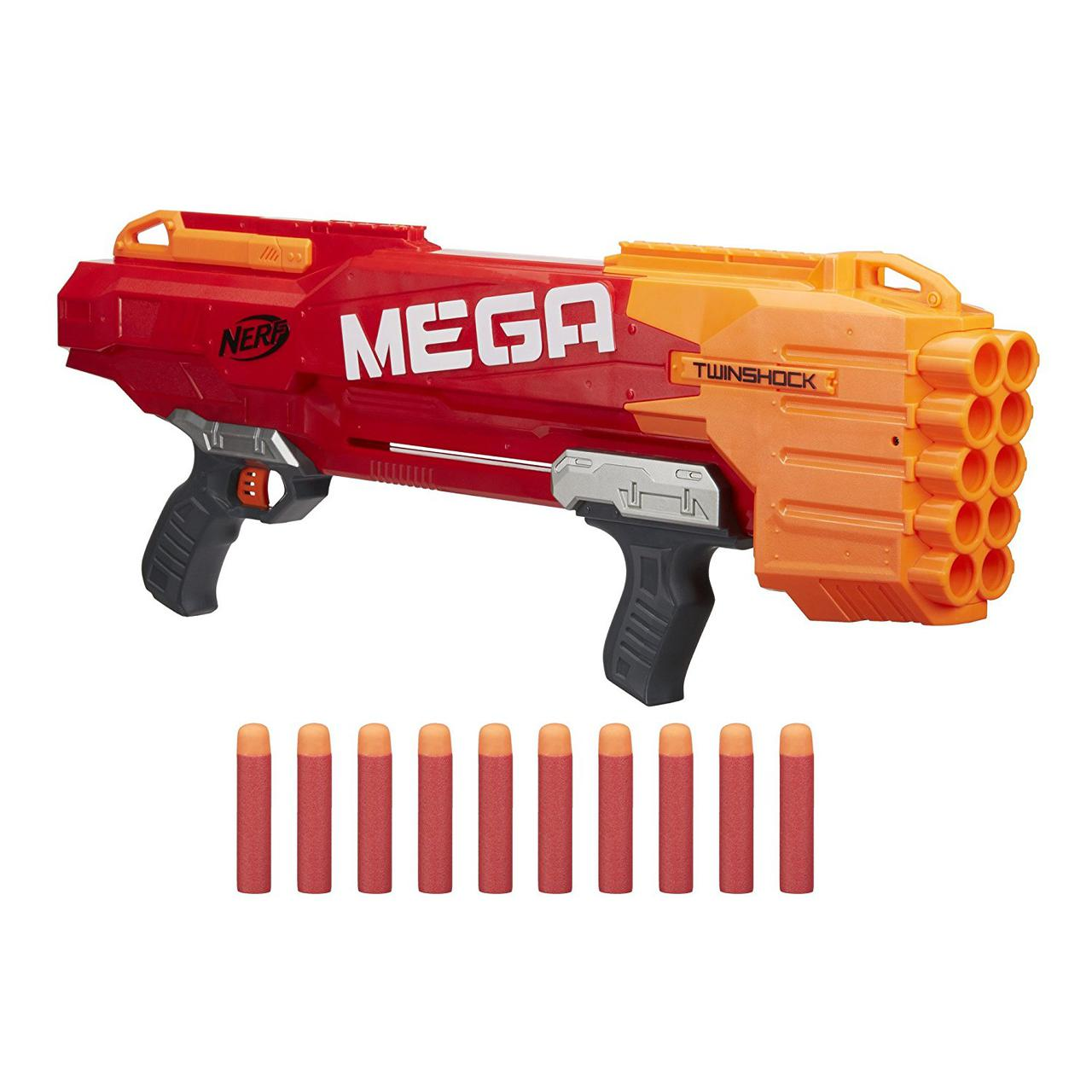 Бластер Нерф Мега Твиншок Nerf N-Strike Mega TwinShock