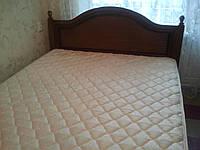 Кровать двухспальная, 2-х спальная, б/у, 1,6х2,0 м, с матрацом ортопедическим, Днепродзержинск