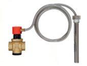 """Защитный термостатический клапан перегрева Afriso TAS 3/4"""", датчик 1/2"""" 95°C, щуп 146мм, капилляр 1300мм"""