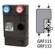 Насосная группа Esbe GRF 112 Flexi с функцией смешивания (арт. 61240200) (Швеция)