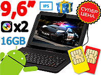 Отличный Мега Игровой Планшет-Телефон Galaxy Tab KT 961PRO 2/16GB 3G+Чехол клавиатура