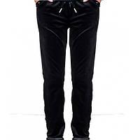 Штаны велюровые. Черные.