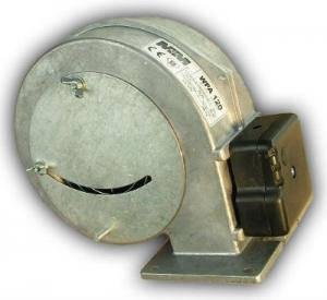 Нагнетательный вентилятор М+М WPA 120 (с заслонкой) (Польша), фото 2