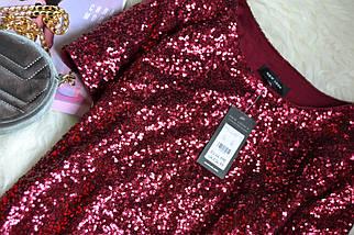 Новое платье в пайетки прямого кроя New Look, фото 2