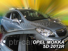 Дефлекторы окон (ветровики)  OPEL MOKKA 2012r-(HEKO)