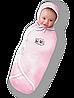 """Пеленка-конверт """"Deep Sleep Flannel"""" розовый"""