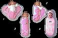"""Пеленка-конверт """"Deep Sleep Flannel"""" розовый, фото 3"""