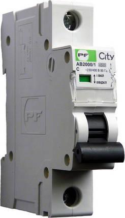 Автоматический выключатель Промфактор City AB2000 1р С16А, фото 2
