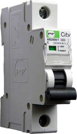 Автоматический выключатель Промфактор City AB2000 1р С25А, фото 2