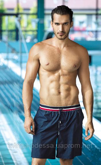 Шорты удлиненные мужские для плавания польские Self