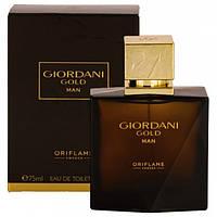 Мужская туалетная вода Джордани Голд Мен Giordani Gold Man 75 мл