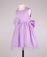 Платье праздничное детское  нежно сиреневого цвета, фото 1