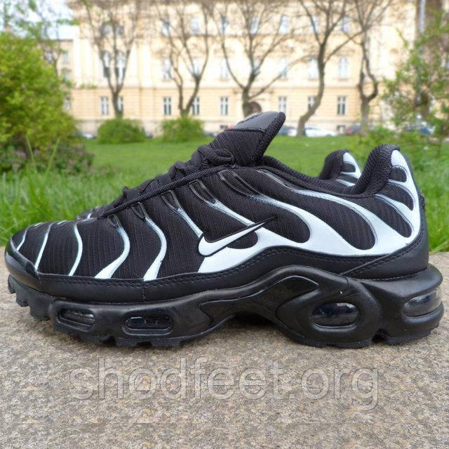 Чоловічі кросівки Nike Air Max Tn Plus Black White