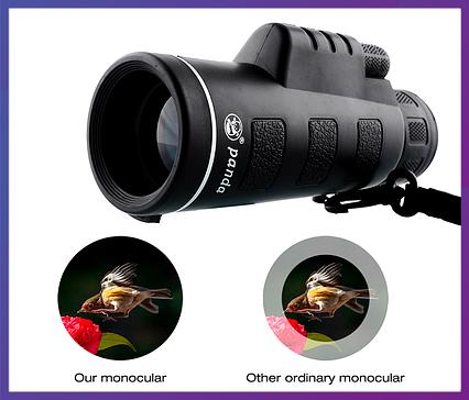 Монокуляр, телескоп, PANDA 40X60 | Влагозащищенный | Противоударный, фото 2