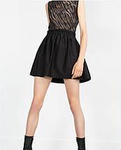 Новая черная юбка Zara, фото 3