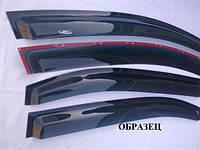 Дефлекторы окон на MITSUBISHI OUTLANDER XL с 2007-2012 г. (HIC)