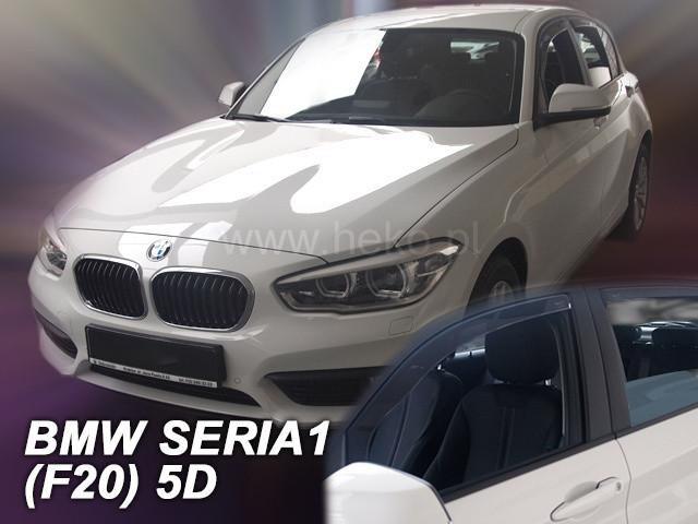 Дефлекторы окон (ветровики)  BMW Seria 1 F20 5d  2011→(HEKO)