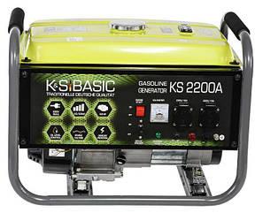 Бензиновий генератор Konner&Sohnen Basic KS 2200A (000001749)