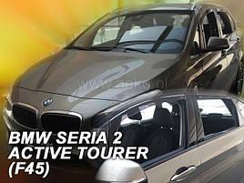 Дефлекторы окон (ветровики)  BMW Seria 2 - ACTIVE TOURER (F45) 5D 2015R->(HEKO)