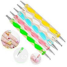 Дотс для дизайна ногтей - длина 10см, 1штука