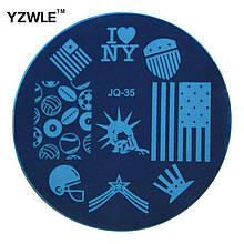 Трафарет для нігтів JQ-35