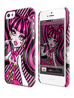Чехол для iPhone 4/4s/5/5s/5с  monster high draculaura