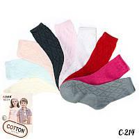 Яркие носки детские сетка Алия C-214