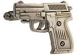 Запонки пистолет для пацанов хулиганов стиль casual, фото 3