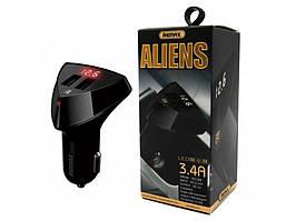 Зарядное устройство Remax RCC-208 Aliens 2USB Black