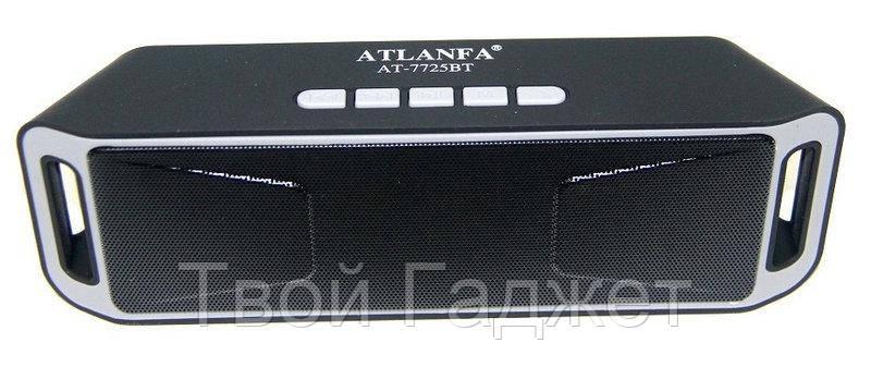 Портативная стерео-колонка с Bluetooth, USB, SD, FM-приемником ATLANFA AT-7725=A2DP