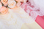 "Кружево  ""Блюмарин классика"", белого тёплого цвета, 14 см., фото 6"