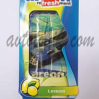 Ароматизатор воздуха гель Areon Liquid Lemon, фото 1