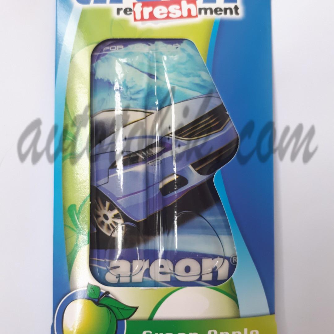 Ароматизатор воздуха гель Areon Liquid Green Apple