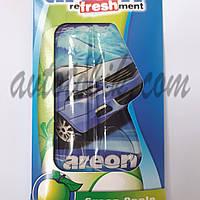 Ароматизатор воздуха гель Areon Liquid Green Apple, фото 1